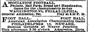 The Philadelphia Phillies & early Philly soccer history