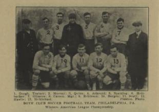 Philly soccer 100: USFA founded, Cup semis, Bethlehem tops Boys Club