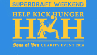 Sons of Ben Help Kick Hunger event caps SuperDraft Weekend