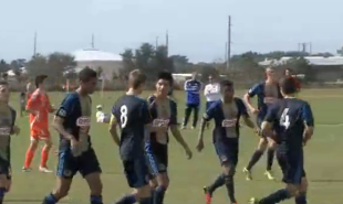 Union youth at the US Soccer Development Academy Winter Showcase