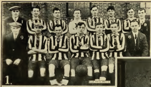 New Year's Day soccer, 1916
