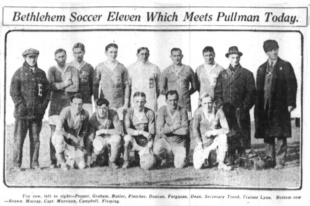 US Open Cup, 1916: Bethlehem Steel advances to the final