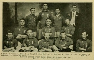 Great moments in Philly soccer history: Tacony win the 1910 American Cup