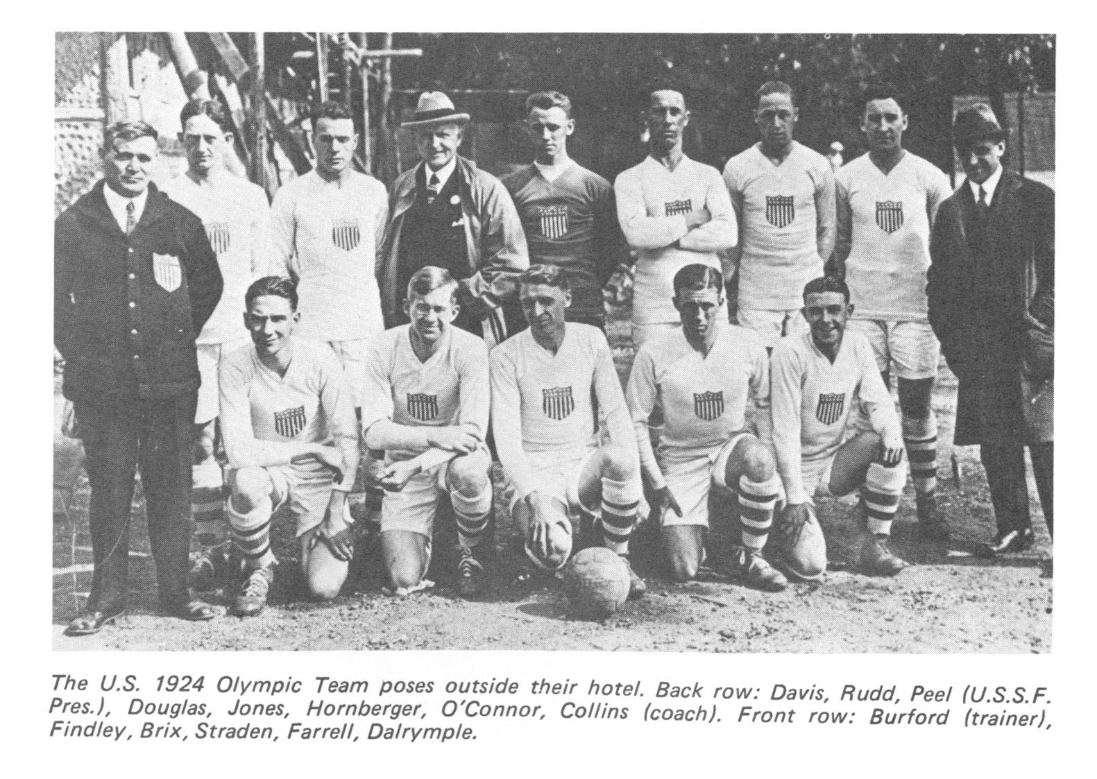 1924 UAS Olympic soccer team