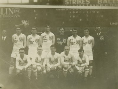The 1925 US team