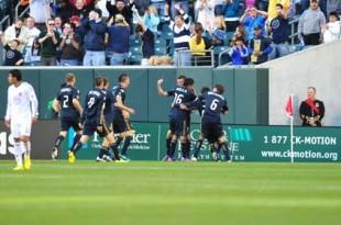 Le Toux treble gives Union 3-2 victory