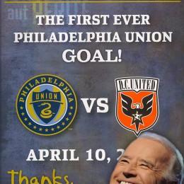 Joe Biden and Philadelphia Union: Not so perfect together.