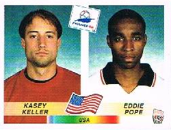 Pope-Keller 1998 WC panini