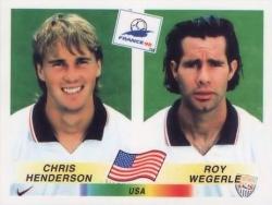 Wegerle-Henderso 1998 WC panini