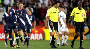 Ref may be dropped from the World Cup