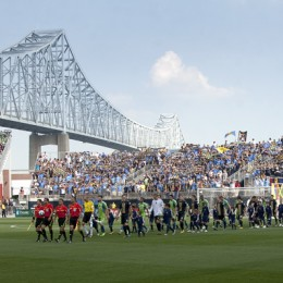 Photos from the first Union match at PPL Park