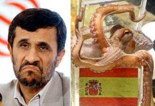 Iran prez disses Octopus & more news of the morn