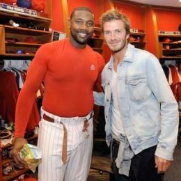 Good luck? Beckham? More news.