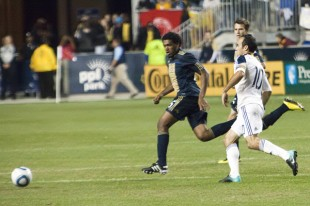 (Photo: Daniel Gajdamowicz) Philadelphia Union LA Galaxy PPL Park