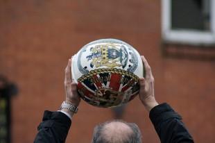 In the beginning: Shrovetide football