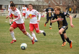 Union reserves 2-1 win over Red Bulls in pictures