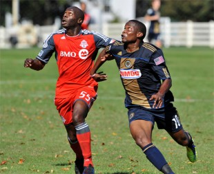 Union Reserves 1-3 Toronto Reserves in pictures