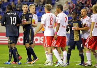 Philadelphia Union at NY Red Bulls in pictures