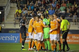 Philadelphia Union 1-2 Houston Dynamo