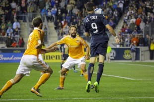 Philadelphia Union vs Houston Dynamo in pictures
