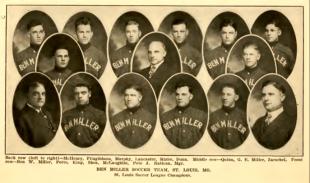Christmas soccer 1916: Bethlehem Steel in St. Louis
