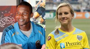 KYW Philly Soccer Show: Danny Mwanga & Amy Rodriguez