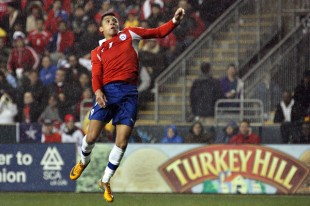 In pictures: Ghana 1-1 Chile at PPL Park