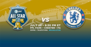Official: MLS All-Stars to face Chelsea at PPL