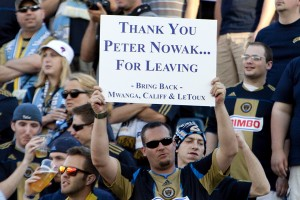 Extending Peter Nowak's contract too early proved disastrous for Sakiewicz and the Union. (Photo: Daniel Gajdamowicz)