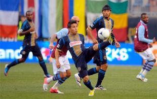 Union vs. Aston Villa in pictures