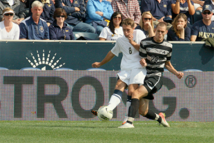 In pictures: Army 1-1 Navy