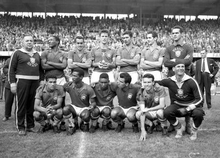 1958 Brazil WC winners