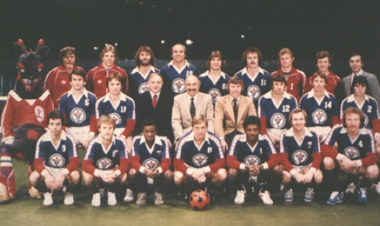 The 1979-80 Fever. Yes, mascots were in team photos in the 1980s…