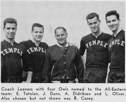 Len Oliver - 1953 All American