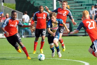 In pictures: Union 3-0 Toronto