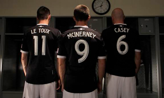 Kits with new letter-number font