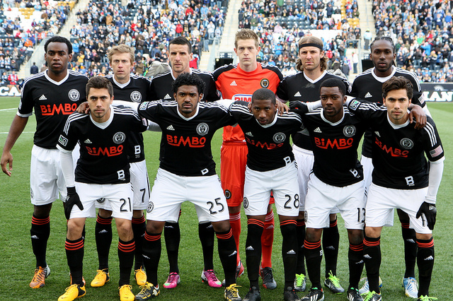 Starting eleven against Sporting