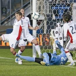 Jack McInerney scores the goal