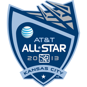 The logo for the 2012 All-Star Game was unveiled during Sunday's game in Kansas City. The ASG will take place Wednesday, July 31 at Sporting Park.