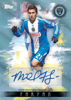 The new Topps MLS cards are now available.