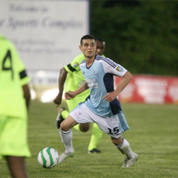 Morgan Langley has been playing well and under the radar for years. (Photo courtesy of Harrisburg City Islanders.)