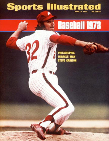 "Alas, the ""Miracle Man"" would not deliver in 1973–Carlton would lose 20 games, the last Phillies pitcher to do so"