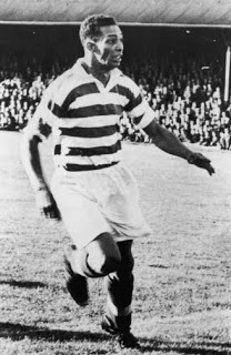 Gil Heron in action for Celtic