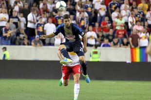 """Moreno: """"There's nobody more talented, in terms of pure soccer talent, than Michael Farfan..."""" (Photo: Paul Rudderow)"""