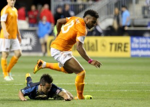 Houston has left Philadelphia behind in the Union's short MLS tenure. (Photo: Paul Rudderow)