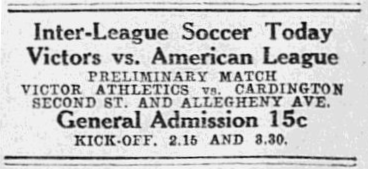 9-27-1913 Victors v Amer League ad p10
