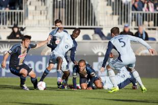 Philadelphia Union v Sporting KC by Daniel Gajdamowicz