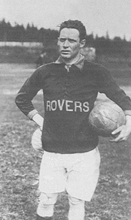 The Hibernian's Tommy Swords, seen here when he was with Fall River Rovers