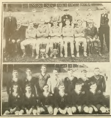 West Philadelphia FC (top) and Reading FC (bottom), 1913-1914