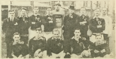 The picked Allied League team that faced the pick of New York's Metropolitan League.